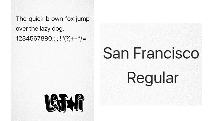 VIVO Font: San Francisco Regular ( itz) Font - Papa Eathan