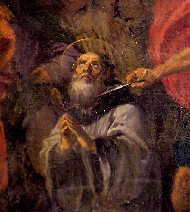 Santo Eulógio mártir que padeceu sob os católicos acomodatícios.