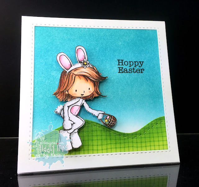 Tiddly Inks, Kecia Waters, Copic markers, Easter