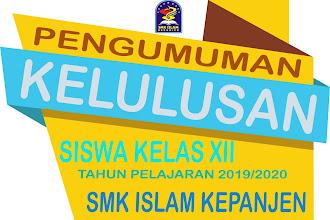 Pengumuman Kelulusan SMK Islam Kepanjen Tahun Pelajaran 2019/2020
