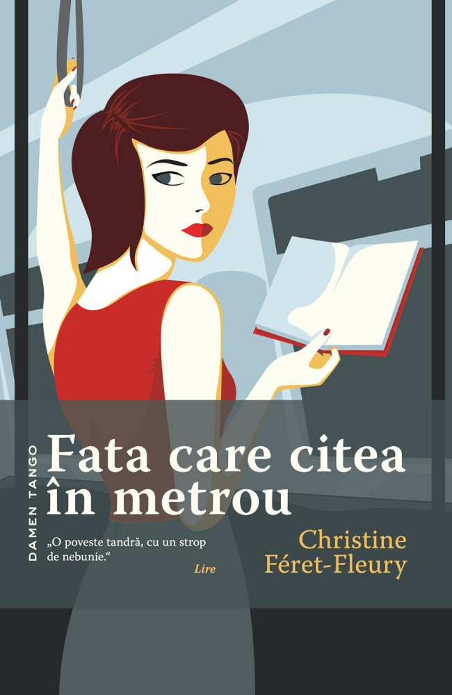 [Recenzie] Fata care citea in metrou - Christine Feret Fleury