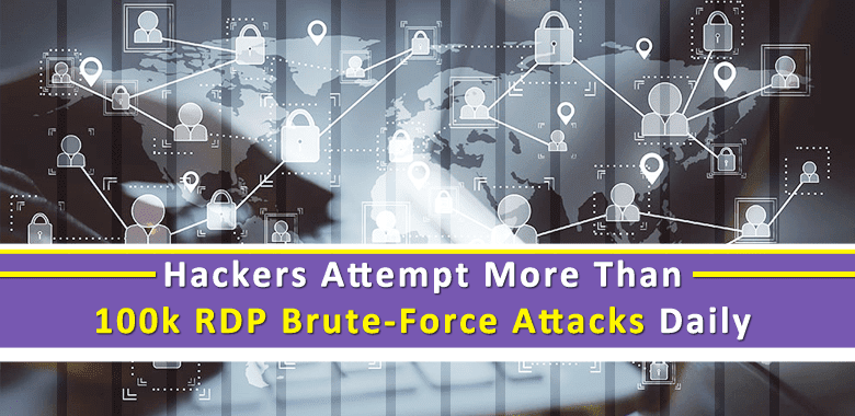 Hackers Attempt More Than 100k RDP Brute-Force Attacks Daily for Remote Hacks