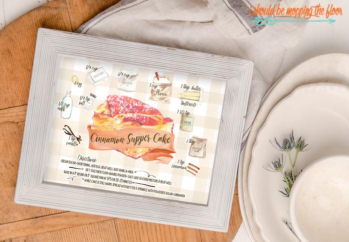 Cinnamon Supper Cake Recipe