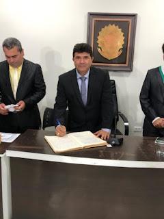 PRIMEIRO BIÊNIO: VEREADOR NOBINHO CARVALHO É ELEITO PRESIDENTE DA CÂMARA MUNICIPAL DE CACIMBA DE DENTRO