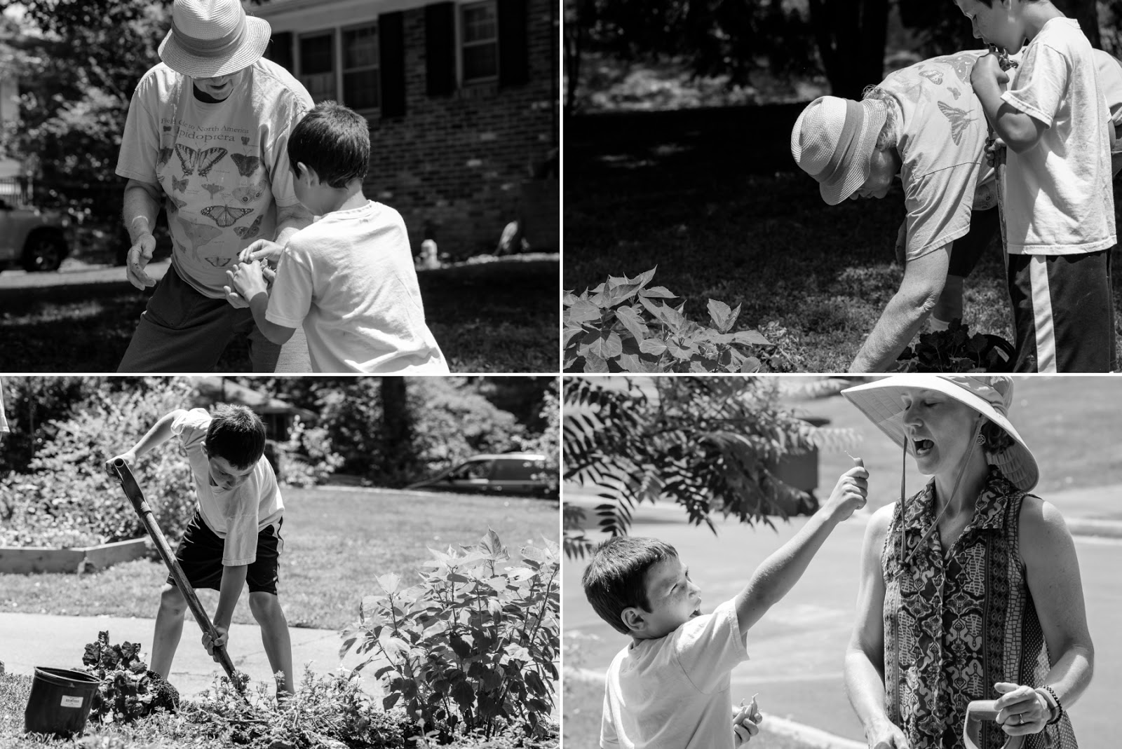 Gardening with Mom and Grandma Family Documentary Photography © Diana Sherblom