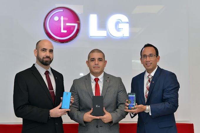 LG presenta en Ecuador su nuevo smartphone de gama media K40