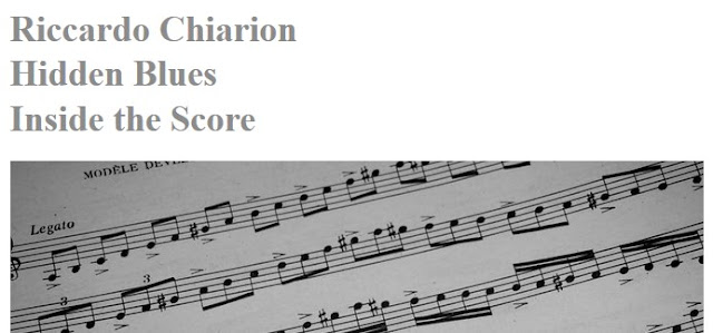 "JazzIt ""Inside The Score"" - Hidden Blues (Riccardo Chiarion)"