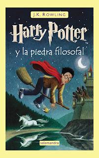 Harry Potter y la piedra filosofal 1, J.K. Rowling