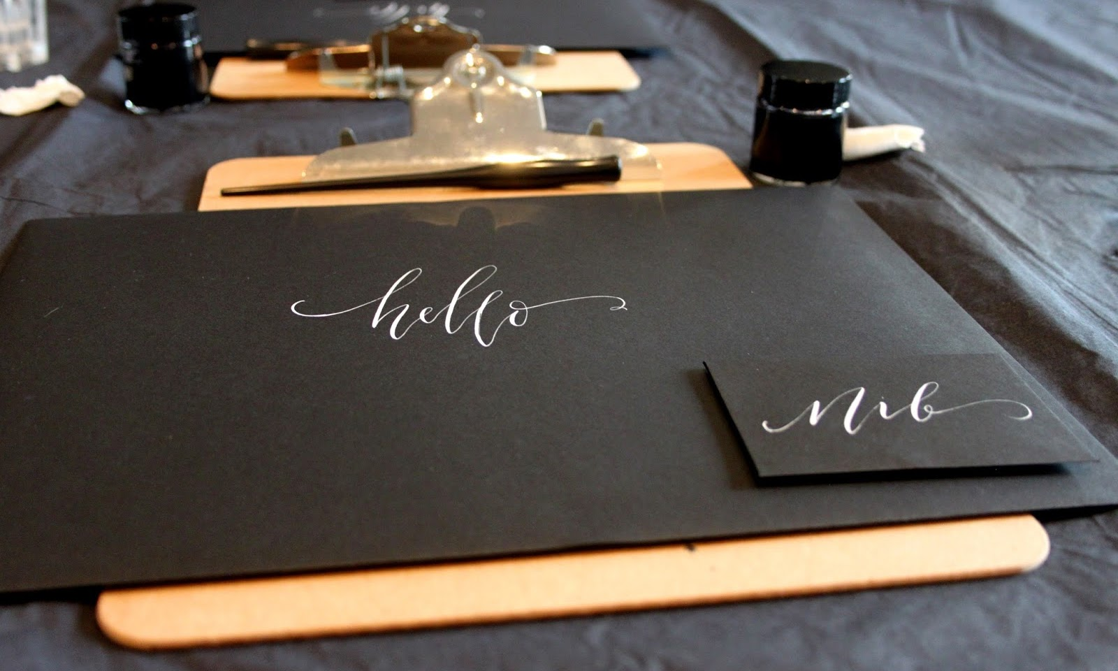 Clashing Time talks Quill London Calligraphy Classes