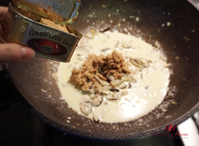 cooking with foie gras pasta golden goose liver