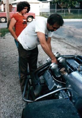 Kenny Reece i jego auto