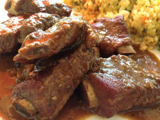 cocinar costillas de cerdo