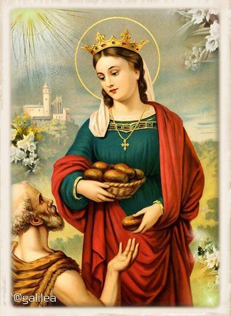Resultado de imagen para Santa Isabel de Hungría