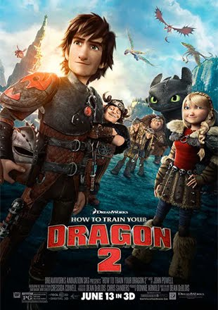 How to Train Your Dragon 2 2014 BRRip 1080p Dual Audio In Hindi English ESub