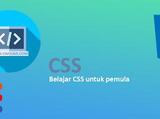 CSS Dasar : Belajar CSS untuk pemula