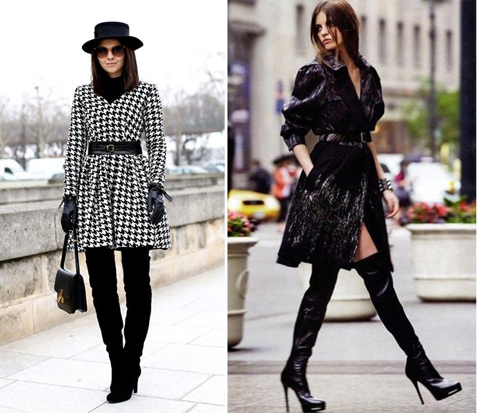 ботфорты, высокие сапоги, кожаная обувь, обувь на зиму, с чем сочетать ботфорты, рекомендации, советы, секреты, блоггер, фешнблоггер, blogger south korea, seoul, сеул, корея, тренд, стиль, high boots, сочетание не сочетаемого, юбка преппи, джинсы, красивая, сексуальная девушка, секси гел, смелая девушка, стильный образ, как удлинить ноги, сделать выше рост, одежда для невысоких, казаться выше