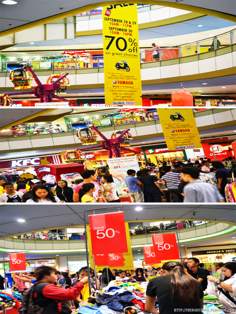 SM City San Lazaro 3-Day Sale