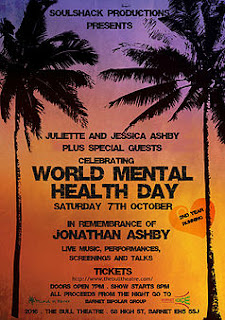 Tickets to the World Mental Health Day concert are selling fast, buy your ticket now to secure yourself an amazing night of live reggae music for a good cause in London this autumn