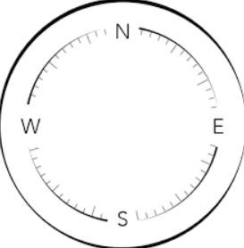 lingkaran Penggaris busur menggunakan pensil www.simplenews.me