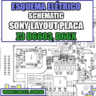 Sony Z3 D6603, D6616, D6643, D6653 Layout da Placa - Esquemas Elétrico  Service Manual schematic Diagram Cell Phone Smartphone Celular Sony Z3 D6603, D6616, D6643, D6653 - Esquemas Elétrico      Esquematico Smartphone Celular Sony Z3 D6603, D6616, D6643, D6653 Layout da Placa - Esquemas Elétrico