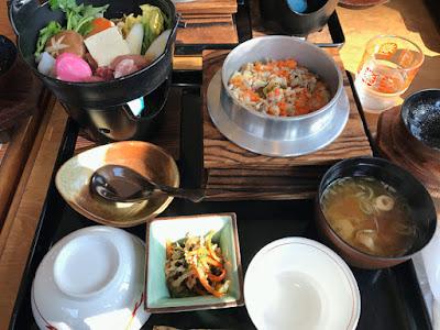 松本亭 キジ鍋定食