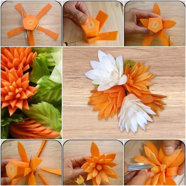 Five Vegetable Decorations Tutorials
