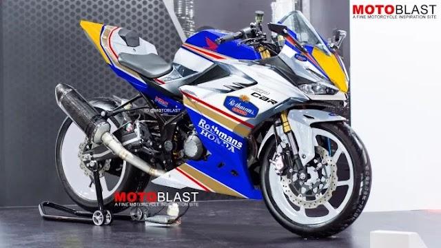 Muncul Lagi Honda CBR150R 2021 Versi Livery NSR500 Rothmans, Gilaaa...Ganteng Banget Ini Mah !!!