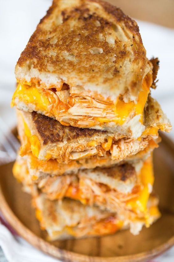 BUFFALO CHICKEN GRILLED CHEESE SANDWICHES #recipes #dinnerrecipes #funrecipestomakefordinner #food #foodporn #healthy #yummy #instafood #foodie #delicious #dinner #breakfast #dessert #lunch #vegan #cake #eatclean #homemade #diet #healthyfood #cleaneating #foodstagram