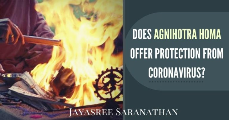 The researches that continue to happen have revealed that Agnihotra fire and smoke remove biological, chemical and physical pollutants in the air.