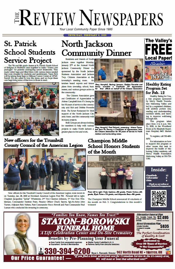 Click Here for the Current Edition!
