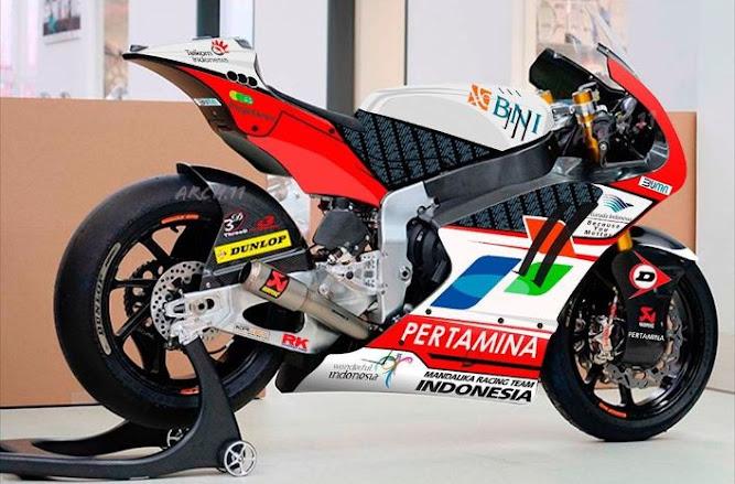 mandalika racing team motogp indonesia 2021