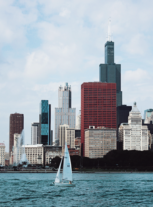 Chicago Skyline Downtown
