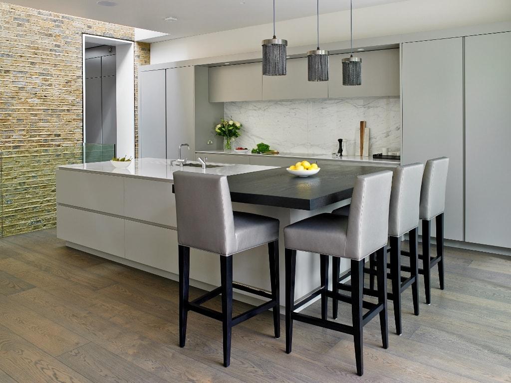 Integracin total una cocina sin signos evidentes  Cocinas con estilo  Ideas para disear tu cocina