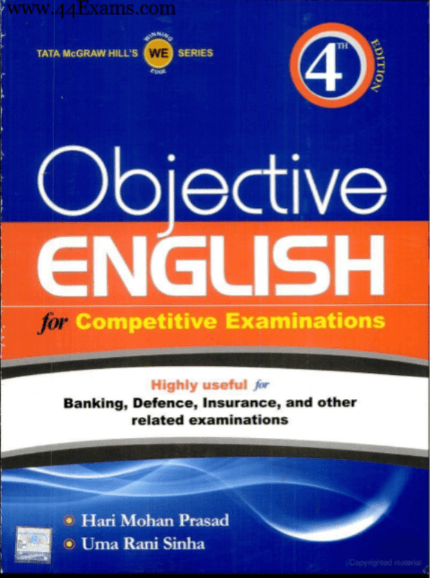 Objective-English-by-Hari-Mohan-Prasad-For-All-Competitive-Exam-PDF-Book