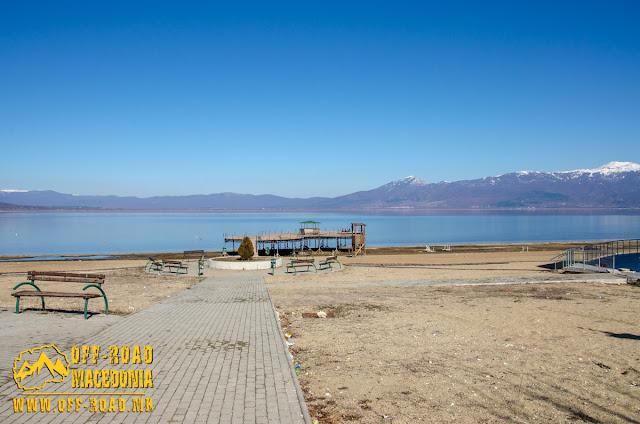 Stenje Beach, Prespa Lake, Macedonia