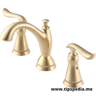 bronze widespread bathroom faucet