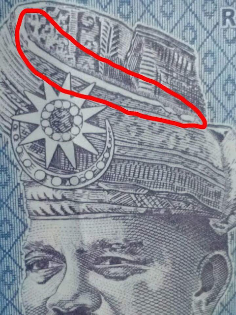 tengkolok duit kertas zoom