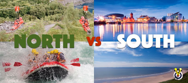 Zip Wire and white water rafting in the north and the beaches and nightlife of the south
