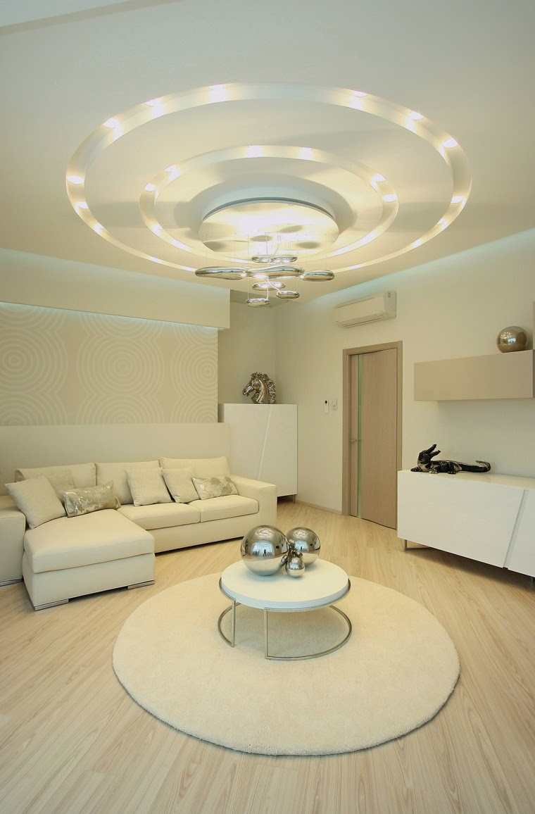 False Ceiling Designs For Living Room In Flats: POP False Ceiling Designs For Living Room 2017