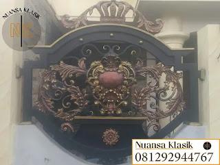 model pagar klasik