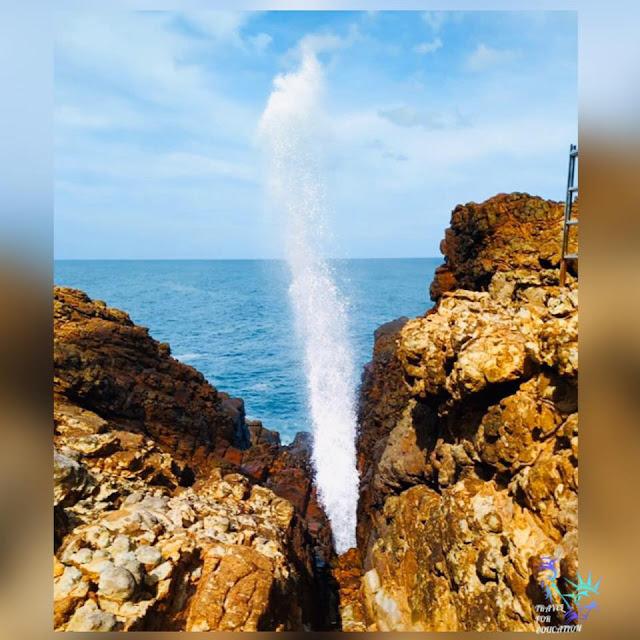 හුම් හුම් ගානා - හුම්මානය ⛲️⛰(Hummanaya Blow Hole) - Your Choice Way
