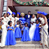 Moments When CNBC AFRICA Staff Walk Down the Aisle With his Wife(Pictures)
