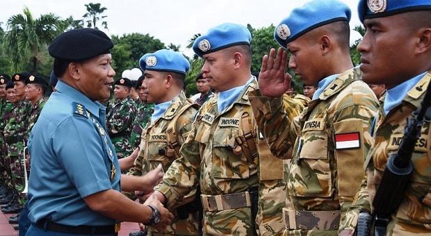 Tugas Pasukan Perdamaian Dilandasi Moral & Doktrin Pertahanan