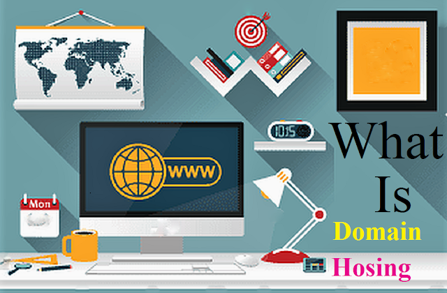 What are domain and hosting? How does it work