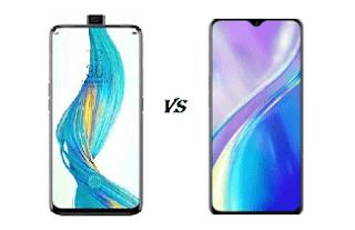 Perbedaan Antara Hp Realme X Vs Realme XT