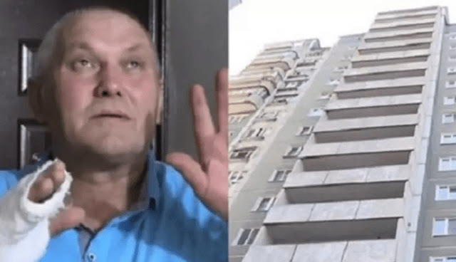 Переломанные пальцы – ничто, ведь он поймал летящую с 8 этажа девочку. Она жива