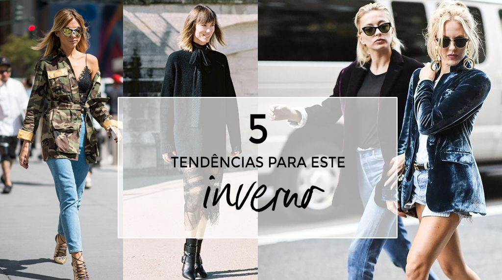 5 tendências a seguir