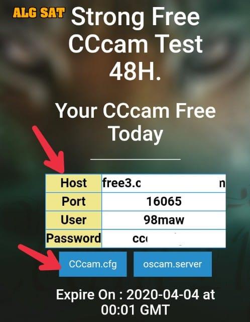 سيسكام - Cccam -freecccam - السيرفر المجاني