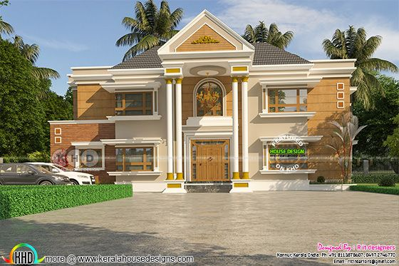 4 bedroom long pillar home