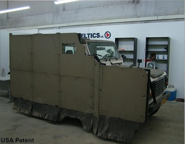 ELTICS Black Fox - Adaptive IR Stealth System